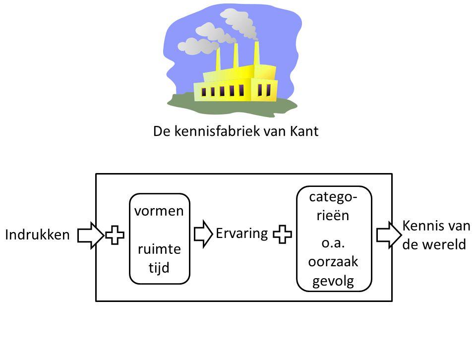 De kennisfabriek van Kant