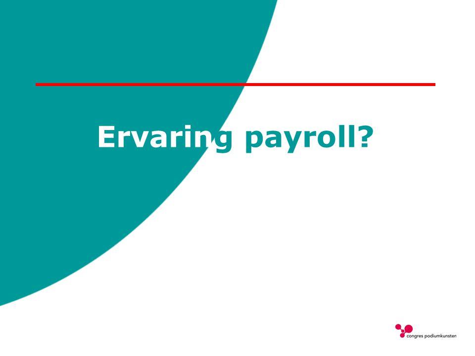 Ervaring payroll