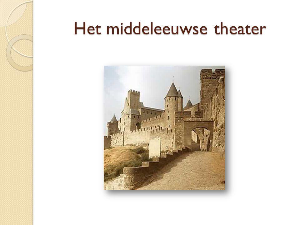 Het middeleeuwse theater