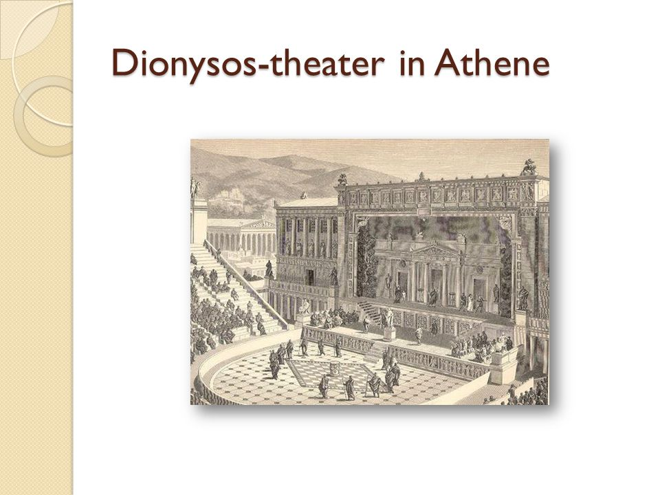 Dionysos-theater in Athene