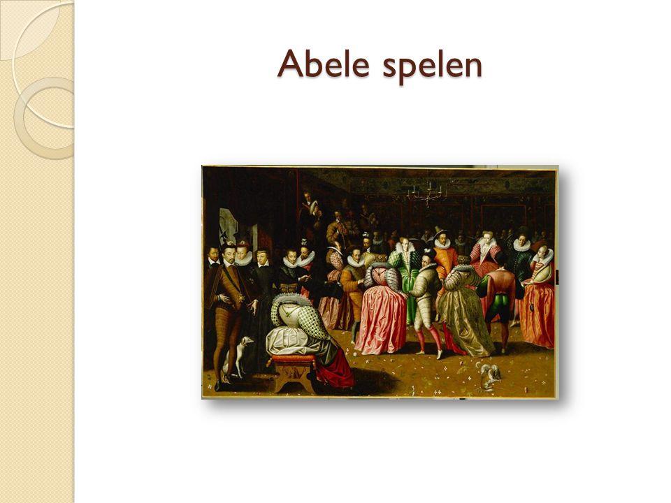 Abele spelen Elke: voorbeeld abele spelen