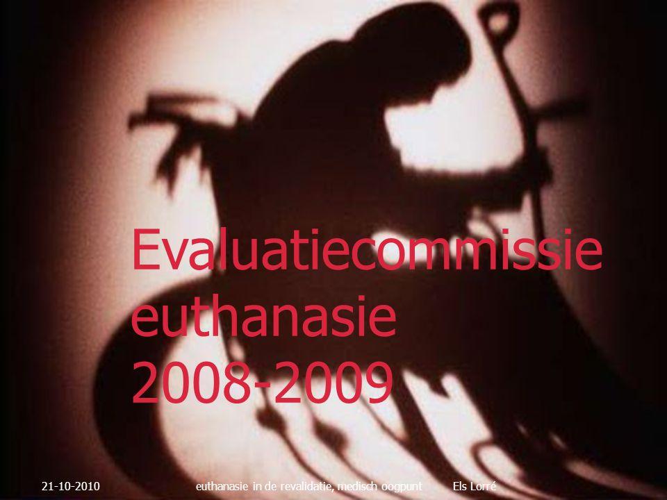 Evaluatiecommissie euthanasie 2008-2009