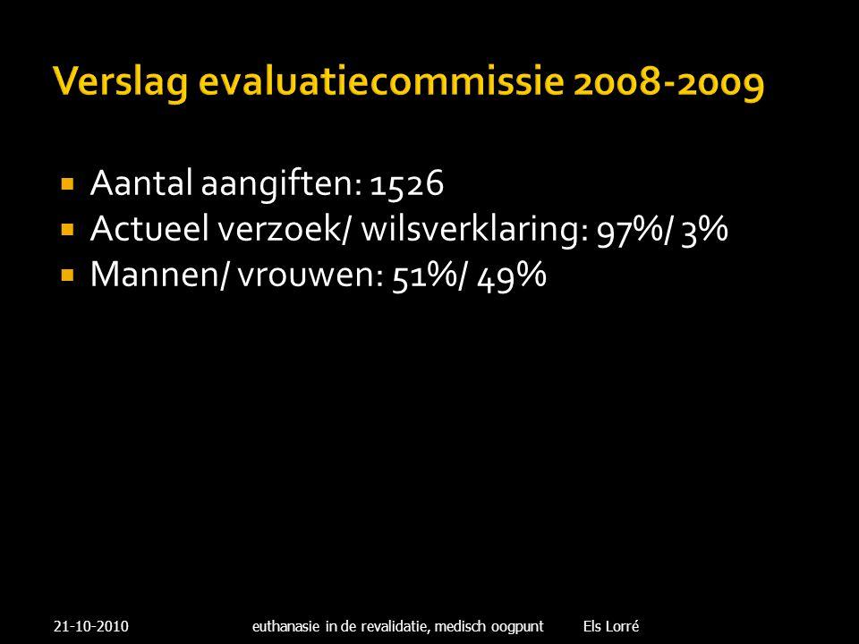 Verslag evaluatiecommissie 2008-2009