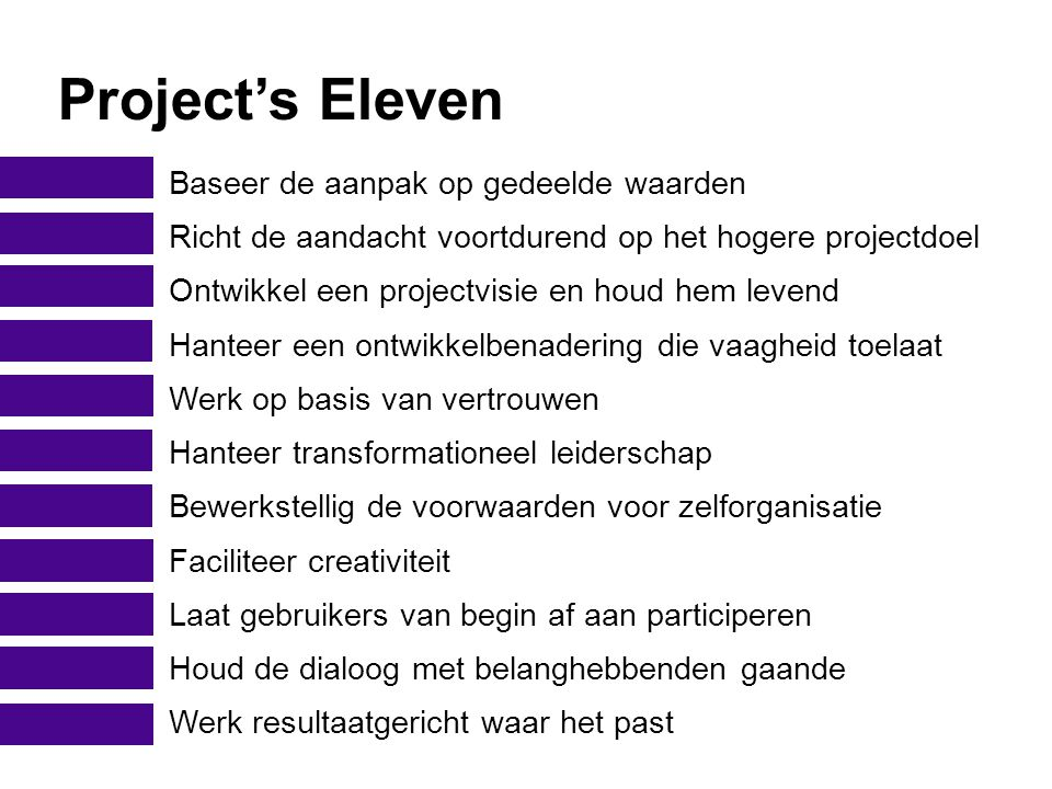 Project's Eleven