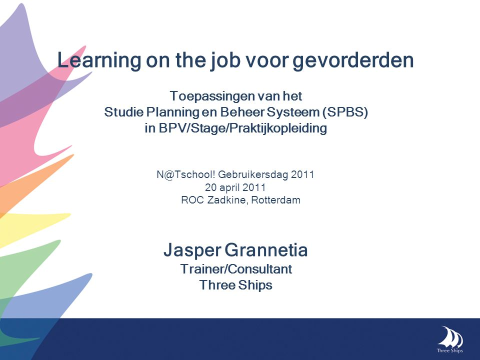 Learning on the job voor gevorderden
