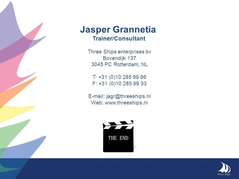 Jasper Grannetia Trainer/Consultant