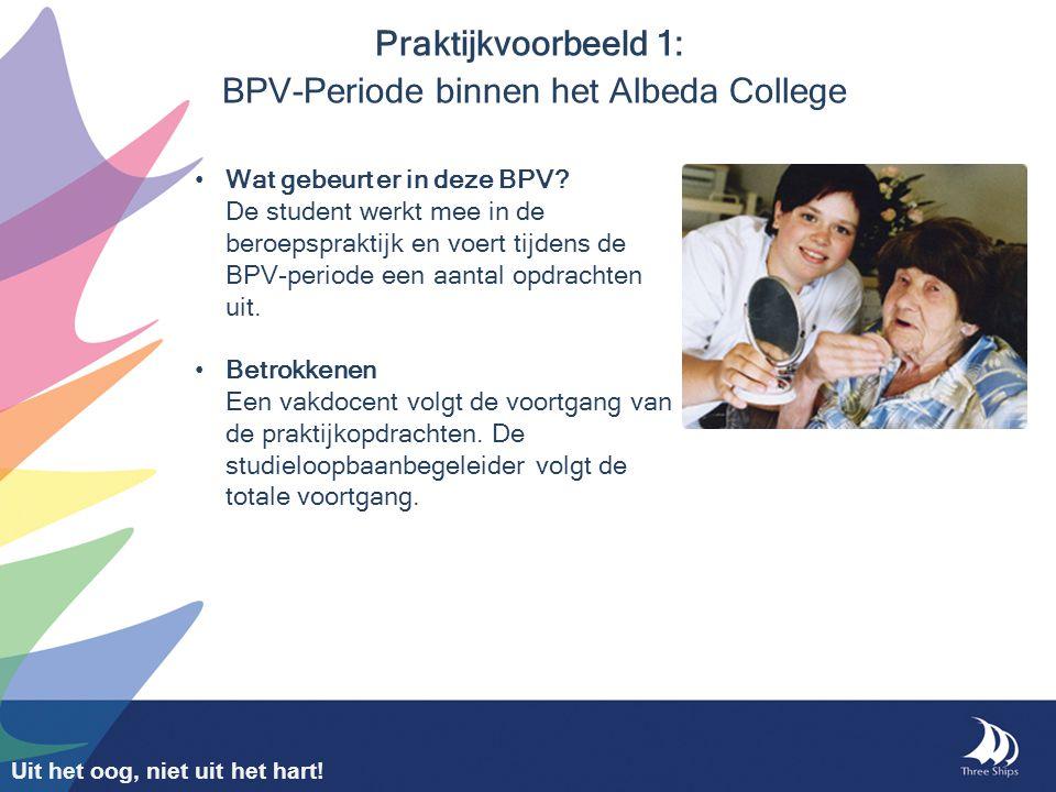 Praktijkvoorbeeld 1: BPV-Periode binnen het Albeda College