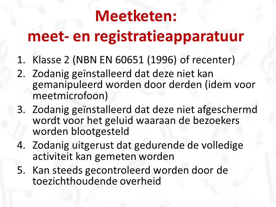 Meetketen: meet- en registratieapparatuur