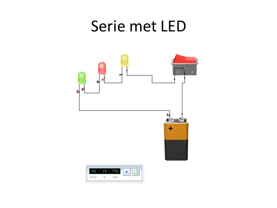 Serie met LED