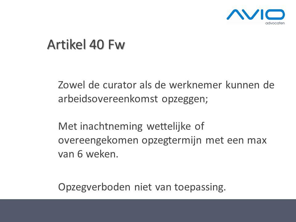 Artikel 40 Fw