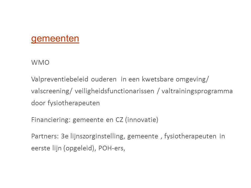 gemeenten WMO.