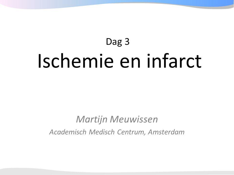 Dag 3 Ischemie en infarct