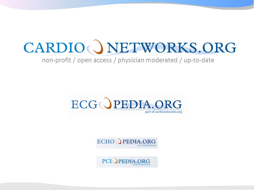 non-profit / open access / physician moderated / up-to-date