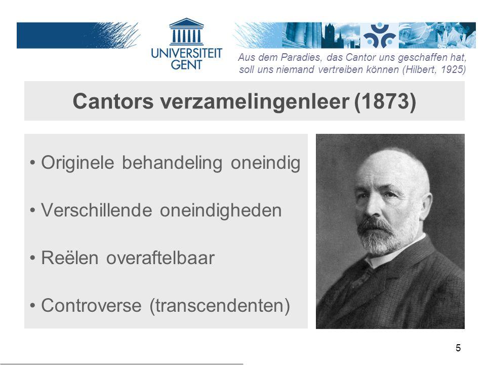 Cantors verzamelingenleer (1873)
