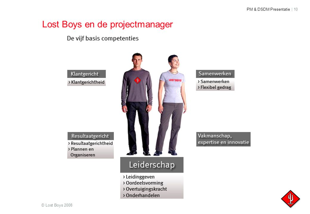 Lost Boys en de projectmanager