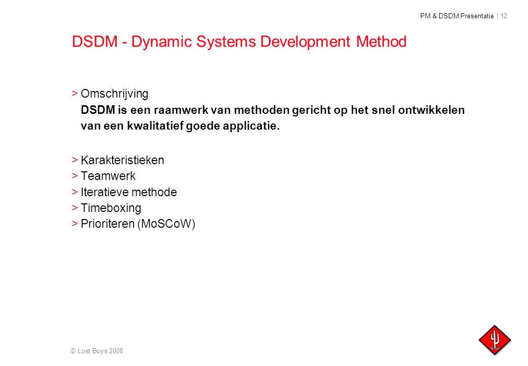 DSDM - Dynamic Systems Development Method