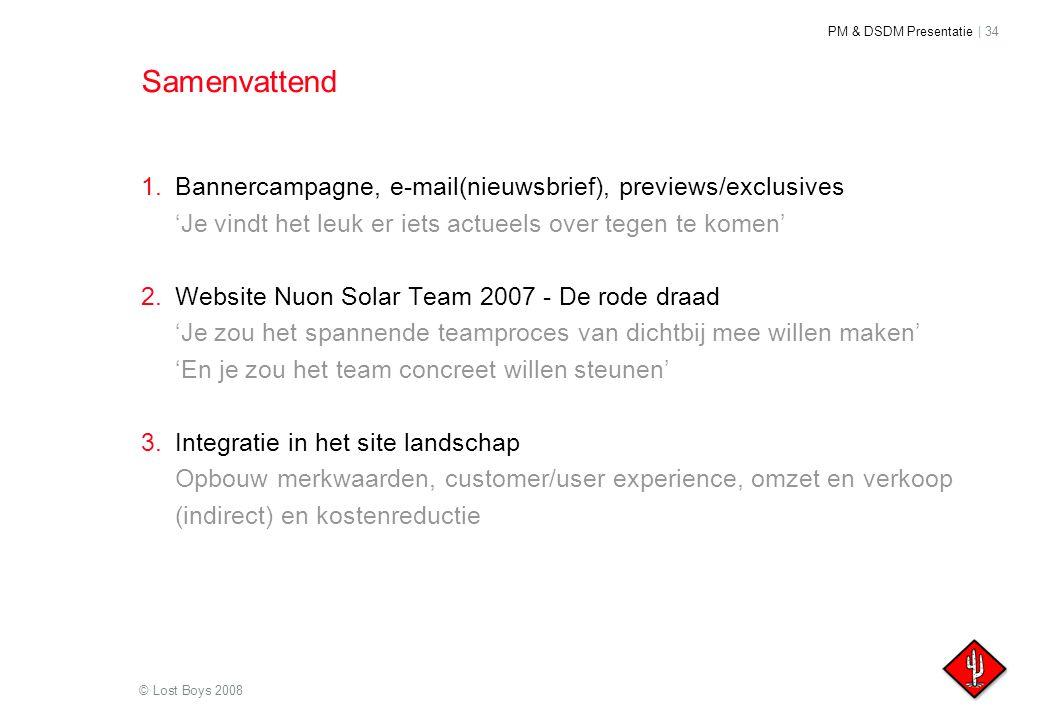 Samenvattend Bannercampagne, e-mail(nieuwsbrief), previews/exclusives 'Je vindt het leuk er iets actueels over tegen te komen'