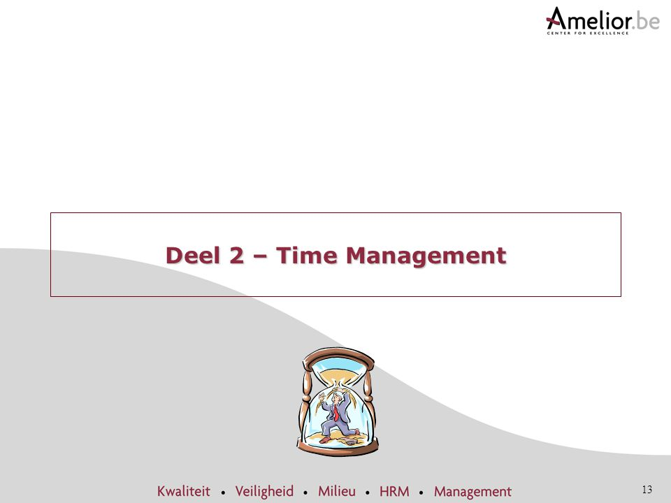 Deel 2 – Time Management