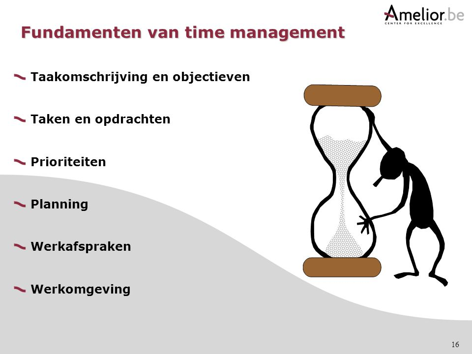 Fundamenten van time management