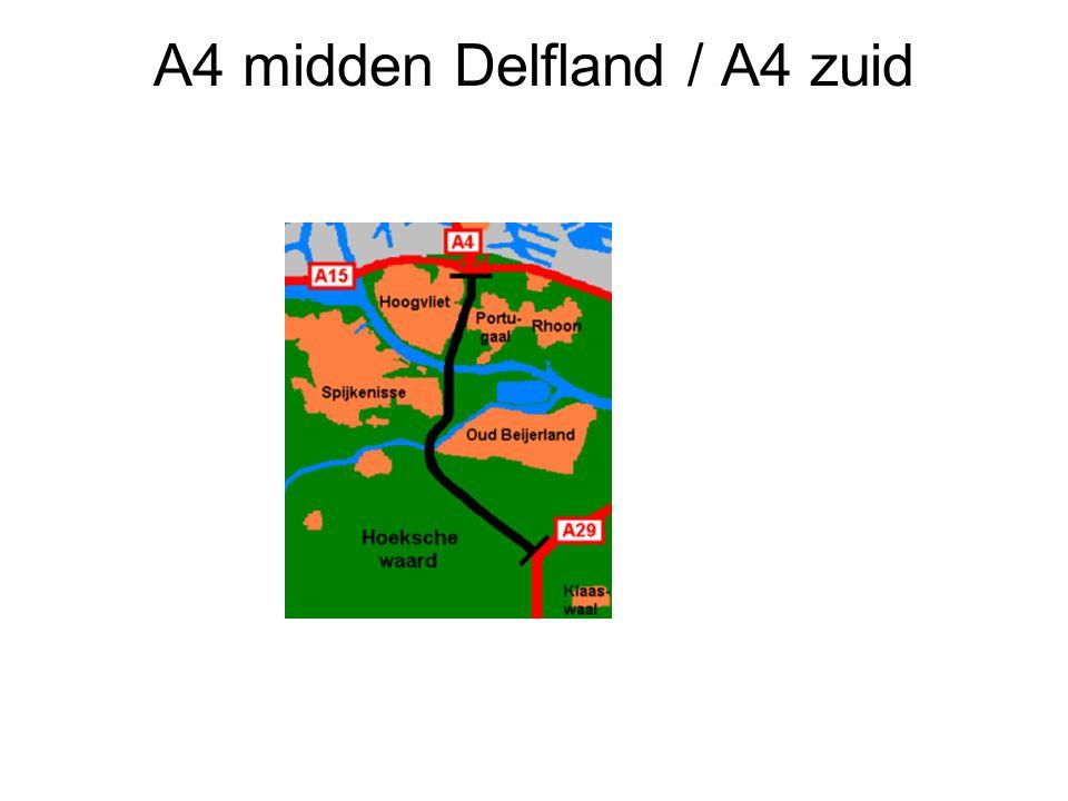 A4 midden Delfland / A4 zuid