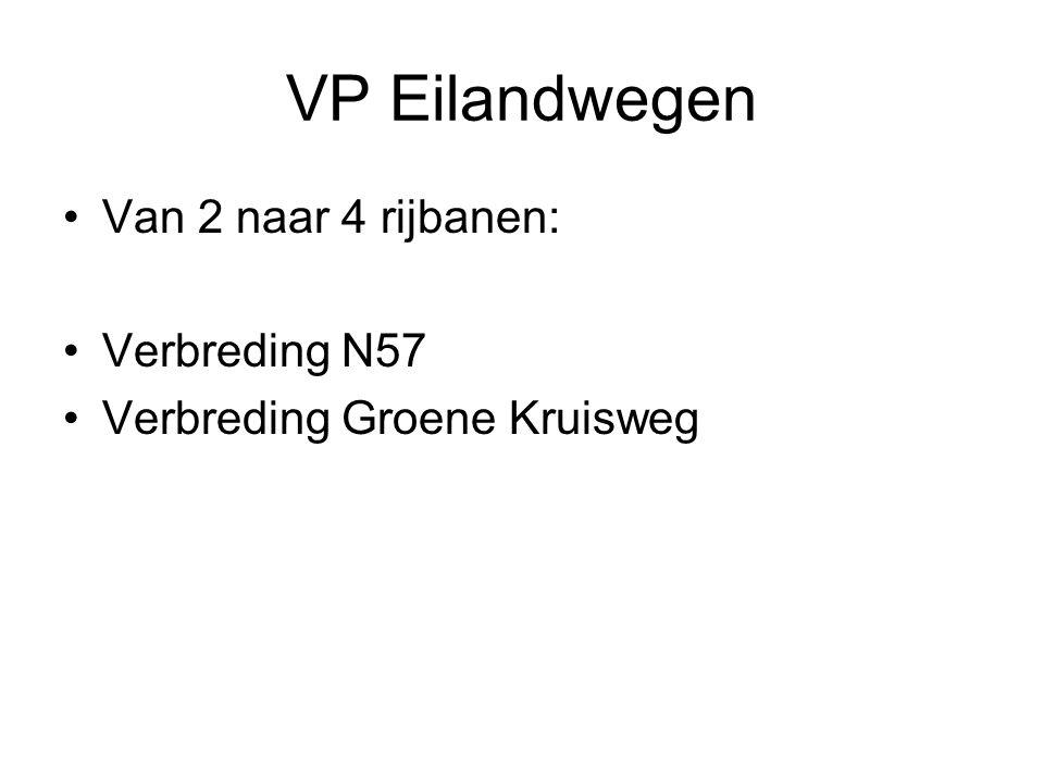 VP Eilandwegen Van 2 naar 4 rijbanen: Verbreding N57