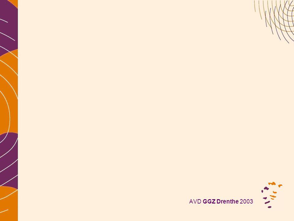 AVD GGZ Drenthe 2003