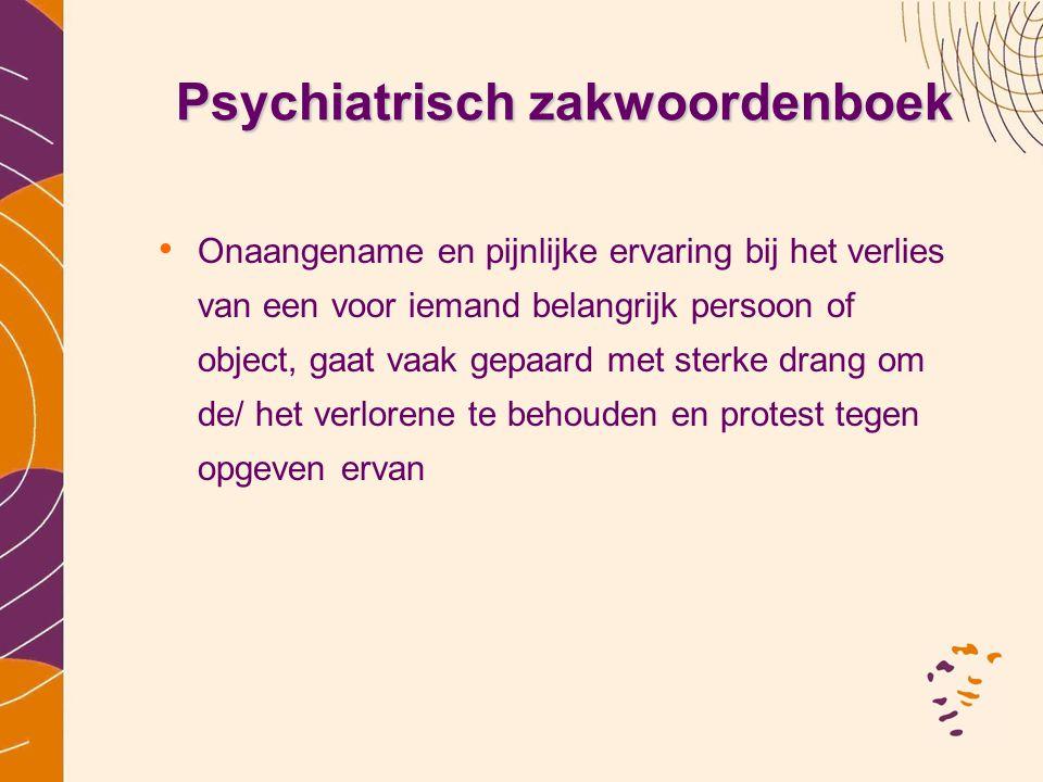 Psychiatrisch zakwoordenboek