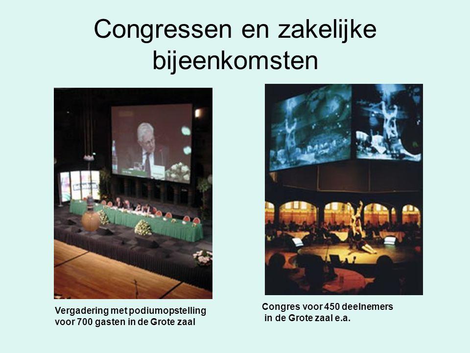 Congressen en zakelijke bijeenkomsten