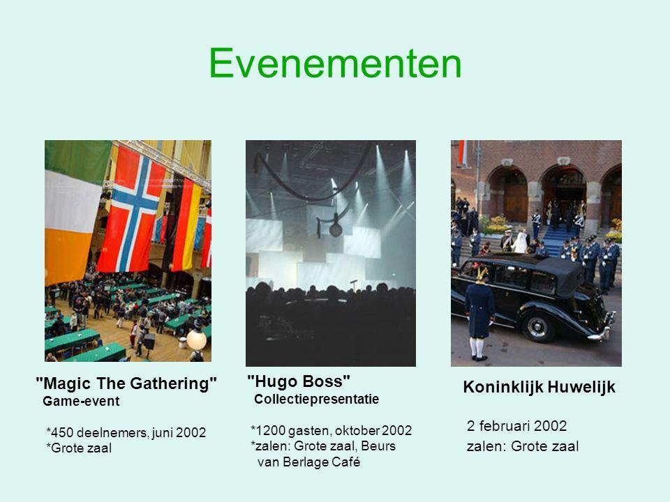Evenementen Hugo Boss Magic The Gathering Koninklijk Huwelijk