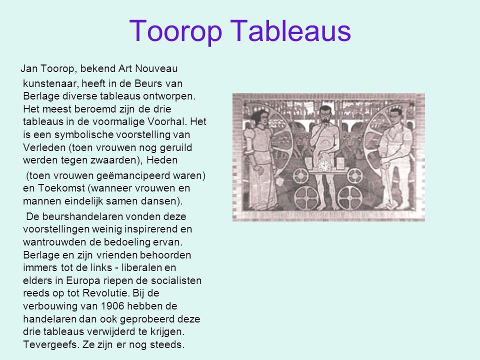 Toorop Tableaus