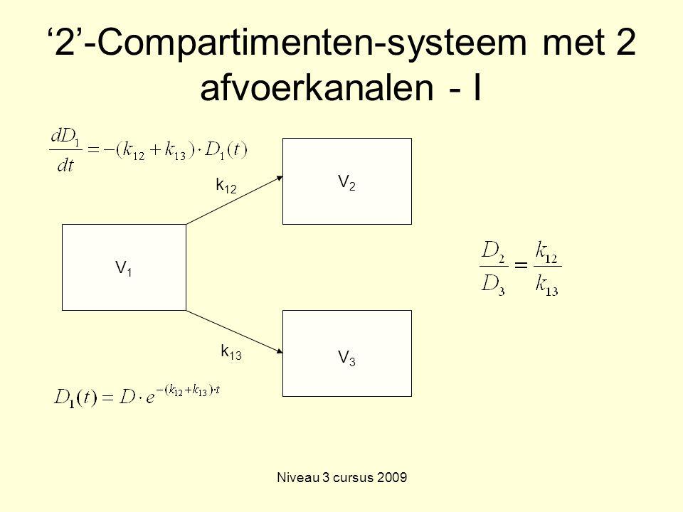'2'-Compartimenten-systeem met 2 afvoerkanalen - I