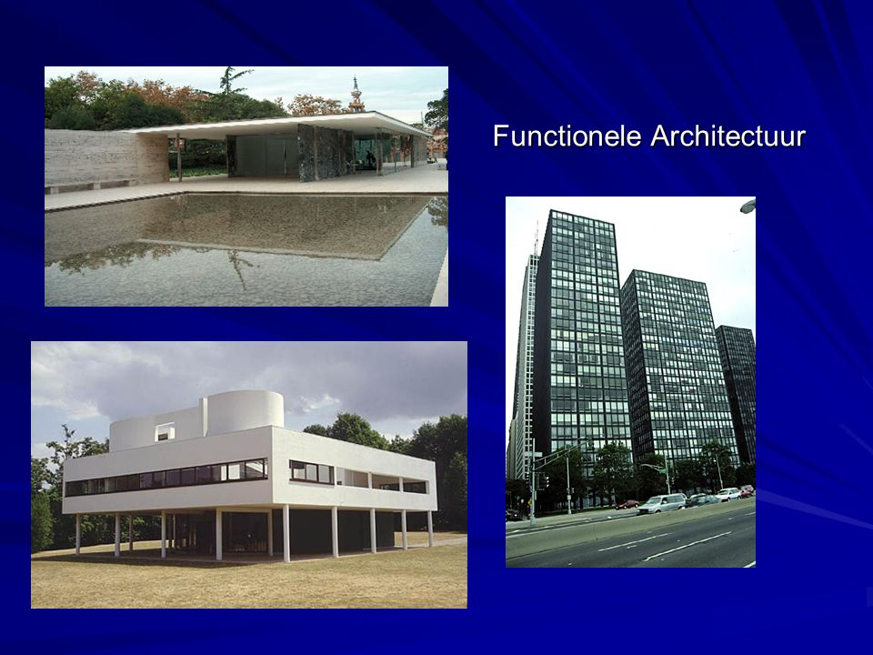 Functionele Architectuur