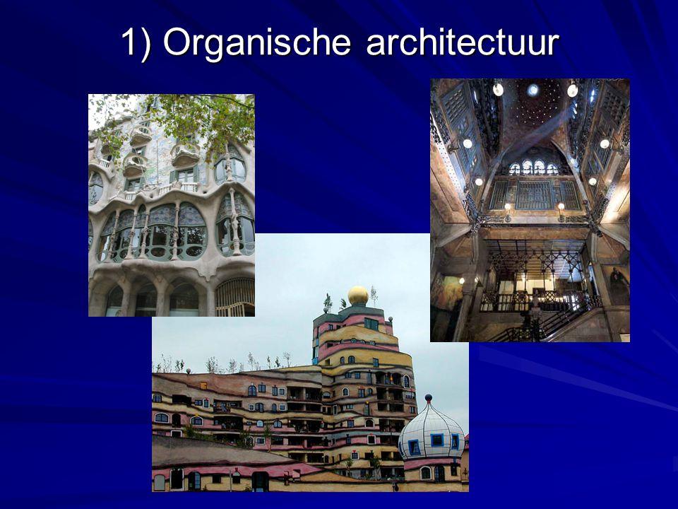 1) Organische architectuur