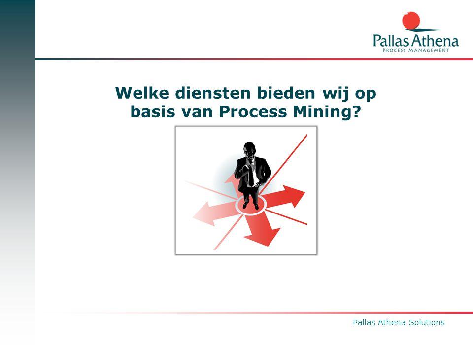 Welke diensten bieden wij op basis van Process Mining