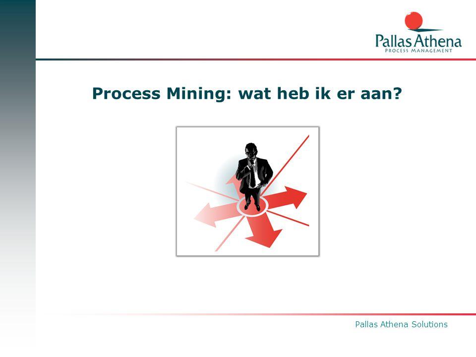 Process Mining: wat heb ik er aan