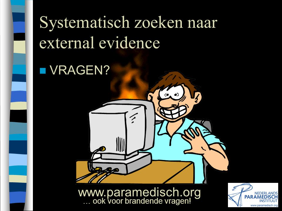 Systematisch zoeken naar external evidence