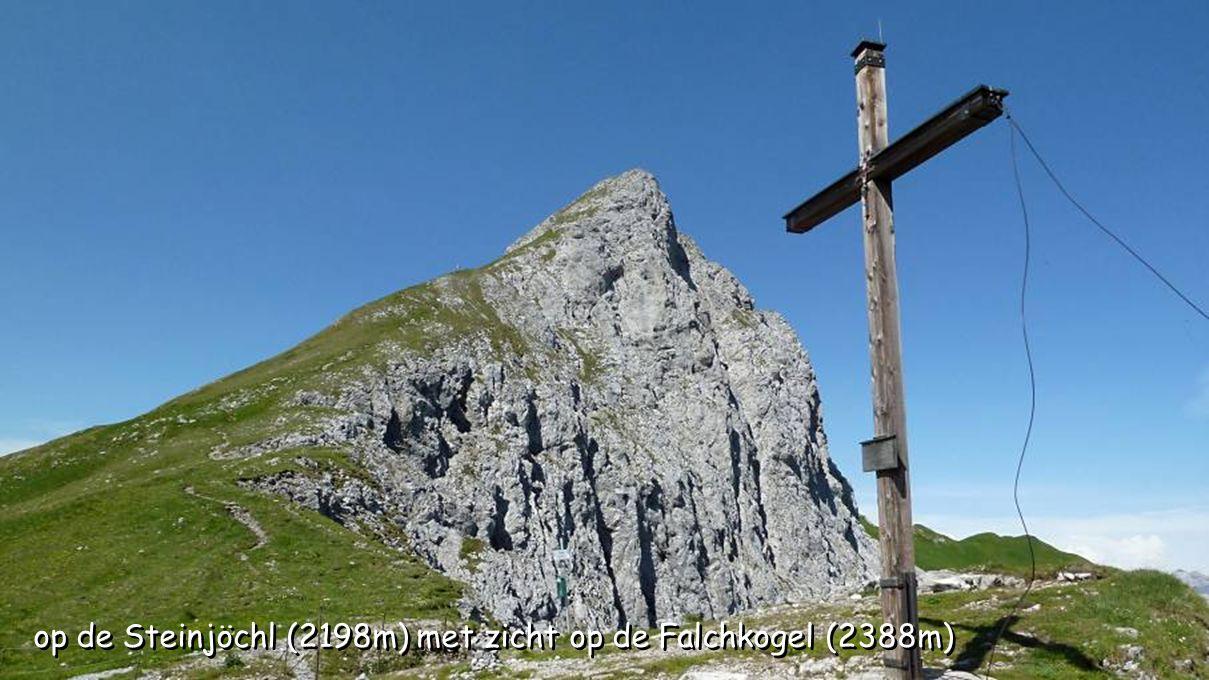 op de Steinjöchl (2198m) met zicht op de Falchkogel (2388m)