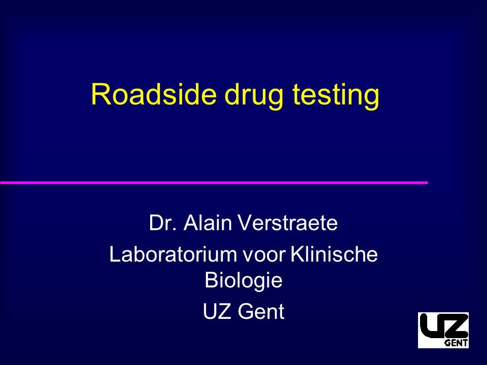 Dr. Alain Verstraete Laboratorium voor Klinische Biologie UZ Gent