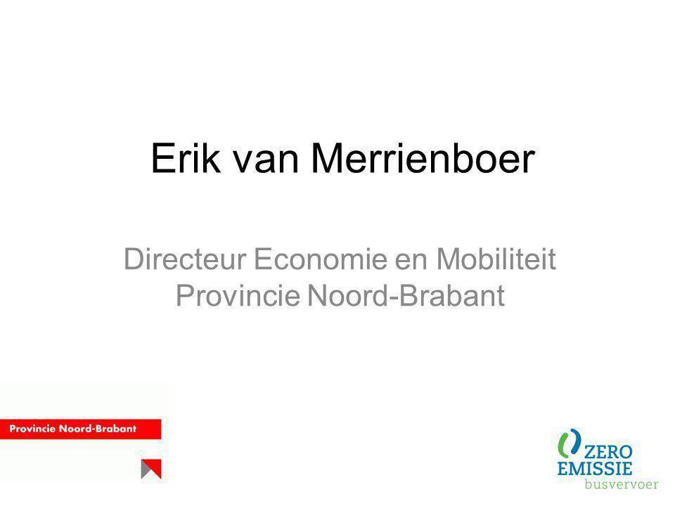 Directeur Economie en Mobiliteit Provincie Noord-Brabant
