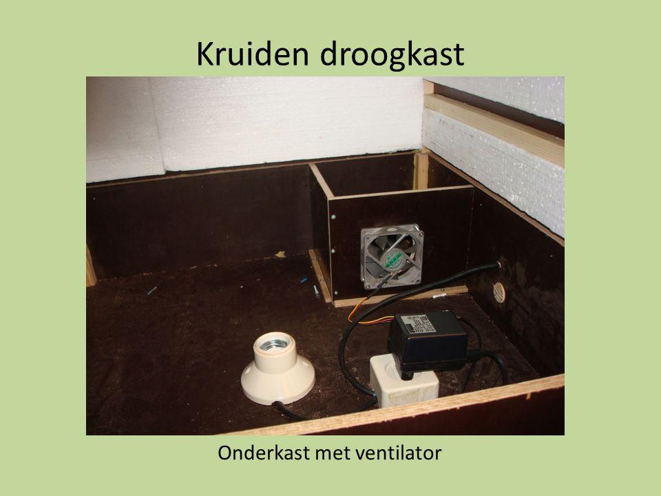 Kruiden droogkast Onderkast met ventilator