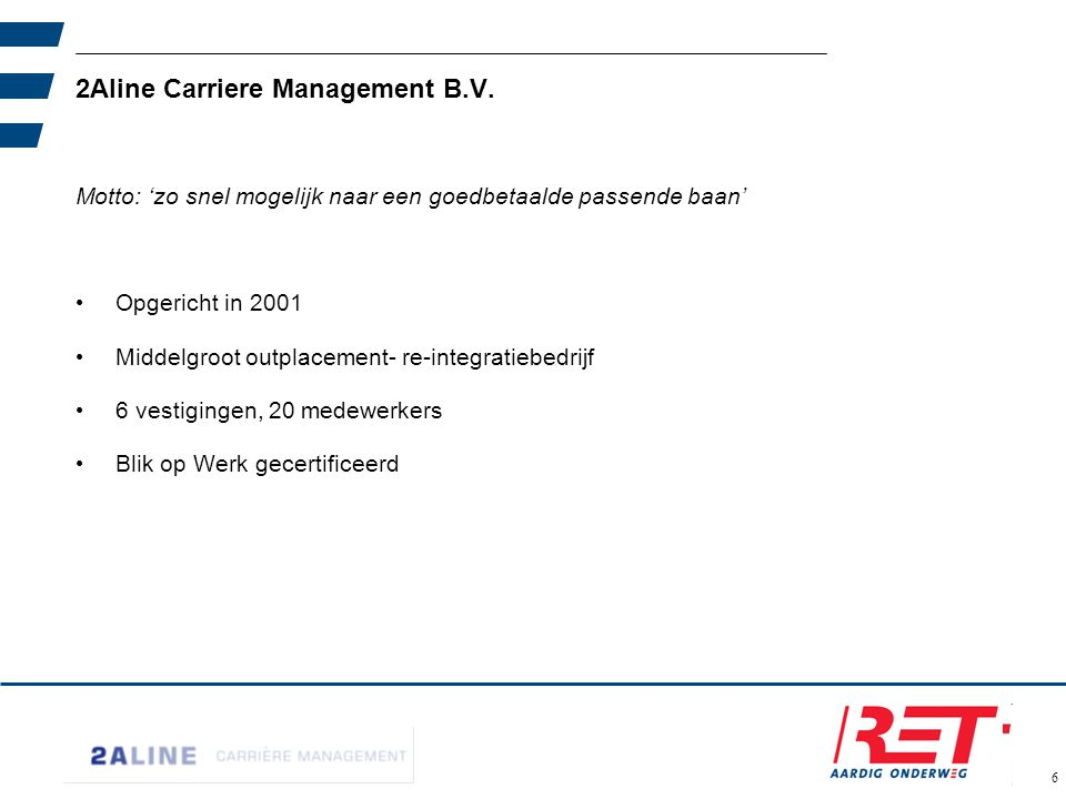 2Aline Carriere Management B.V.