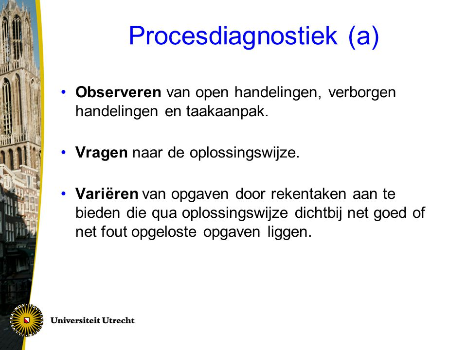 Procesdiagnostiek (a)