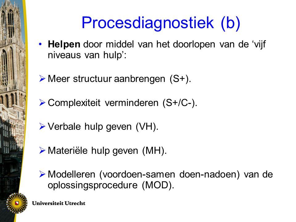Procesdiagnostiek (b)