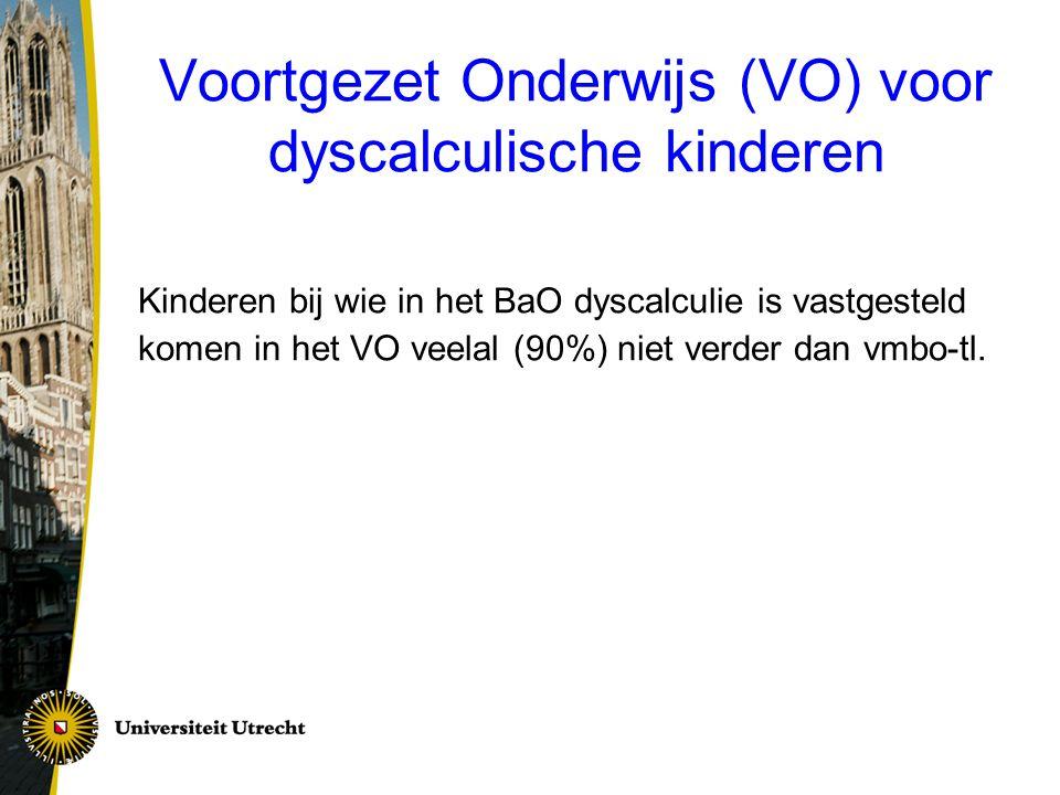 Voortgezet Onderwijs (VO) voor dyscalculische kinderen