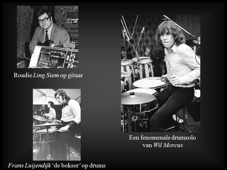 Een fenomenale drumsolo van Wil Morcus