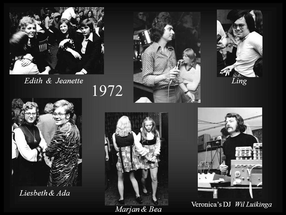 1972 Edith & Jeanette Ling Liesbeth & Ada Marjan & Bea