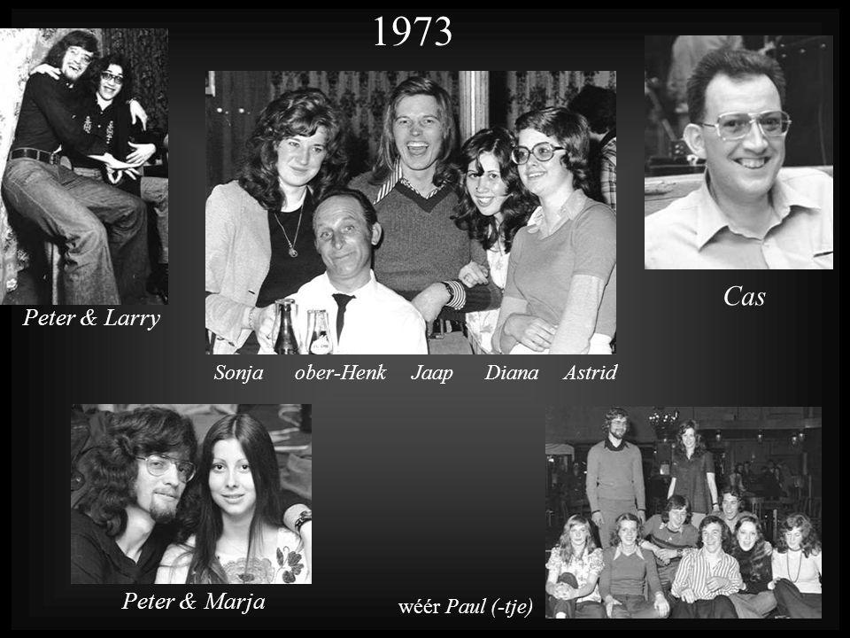 1973 Cas Peter & Larry Peter & Marja Sonja ober-Henk Jaap Diana Astrid