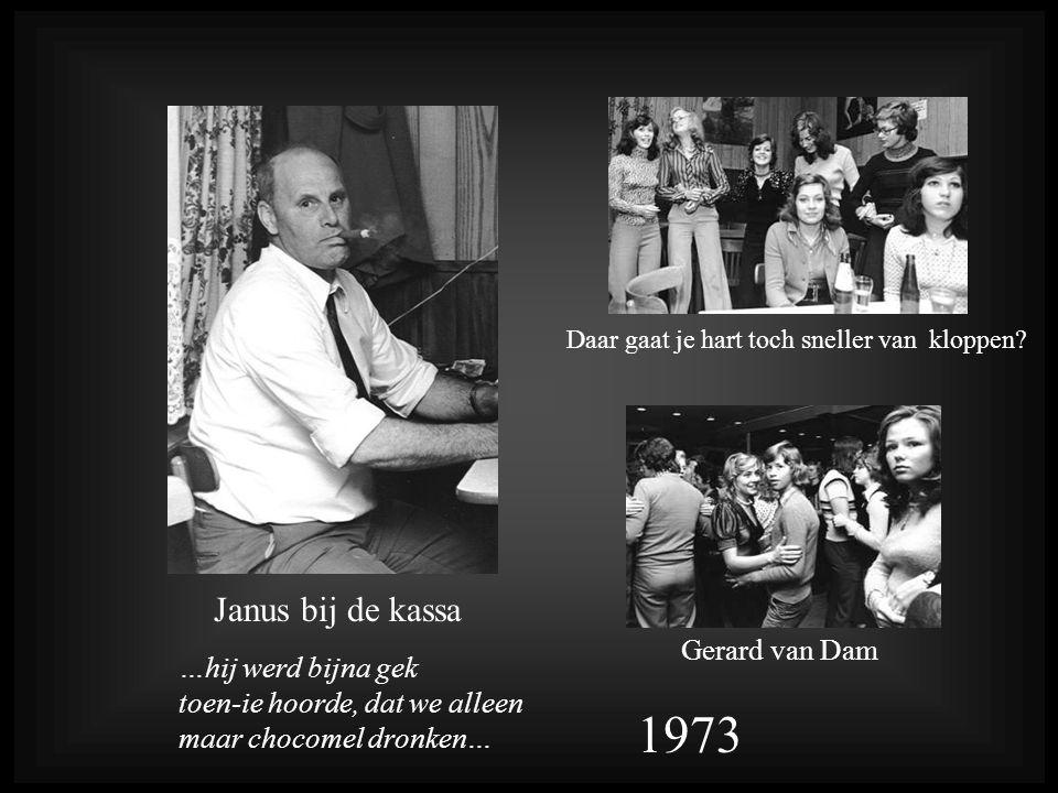 1973 Janus bij de kassa Gerard van Dam