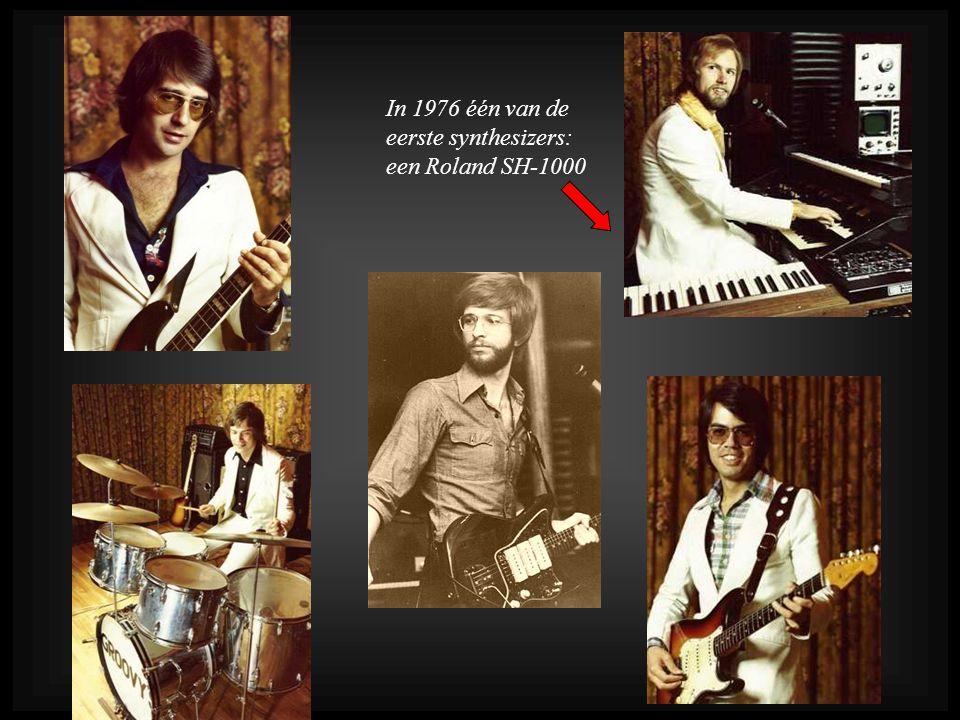 In 1976 één van de eerste synthesizers: