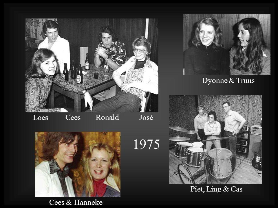 1975 Dyonne & Truus Loes Cees Ronald José Piet, Ling & Cas